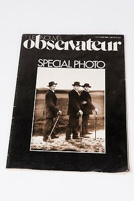 Le Nouvel Observateur Special Photo Nº 1 juin 1977