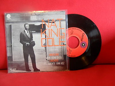 NAT KING COLE Ansiedad 7/45 EP NMINT MEGARARE PORTUGAL RELEASE AMAZING SLEEVE