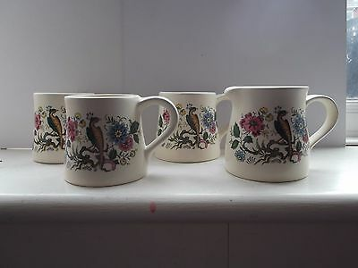 Purbeck Ceramics - Set of 3 Mugs and Milk Jug   (444)