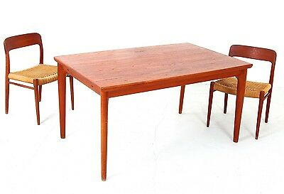Dining Table Grete Jalk for Glostrup Teak Denmark  50er 60er