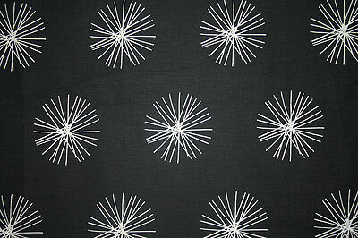 "Scandinavian fabric, ""STAR"" by Maria Hagberg for SPIRA , 100% COTTON"