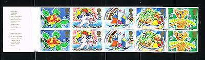 Great Britain stamps - MNH booklet Scott 2010 #BK733 Greetings Booklet