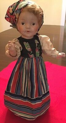 "1939 New York World's Fair 16"" Doll-""Sophie From Poland"" Dollcraft Novelty Co"