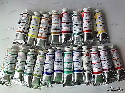 Oil paints Extra Fine set 55x46,23x46 and 11x46 ml tube. Russia.Podolsk . Moscow
