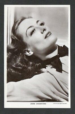 Joan Crawford Picturegoer Main Series Film Star Actress Postcard No. 1113a