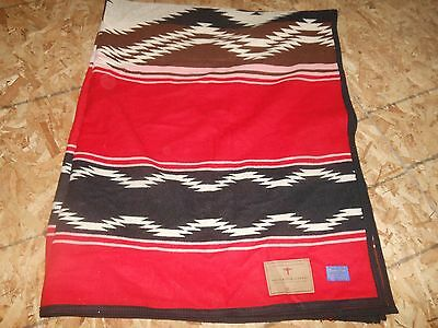 Wool Beaver State Pendleton AICF Navajo Water Blanket Unnapped Numbered 208/1200