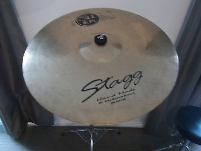STAGG 20 inch RIDE and BOOM Stand