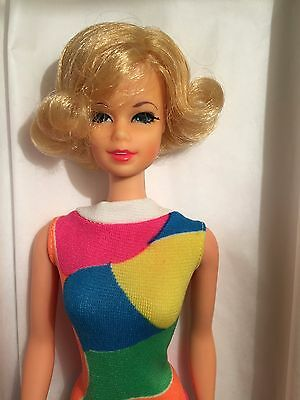 Vintage 1960s Stacey Blonde Flip in Original Swimsuit - Near Mint