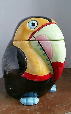 cookie jar Toucan very colorful