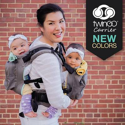 TWINGO Original Twin Baby Carrier, tandem carrier or separates to two carriers