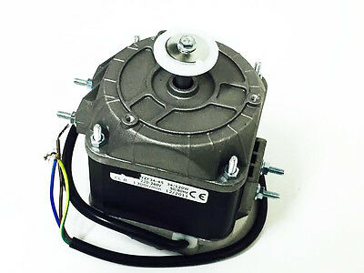 Freezer Room Fan - Square Fan Motor 34W Long Shaft 1300 ~ 1500Rpm 0.2A 240V