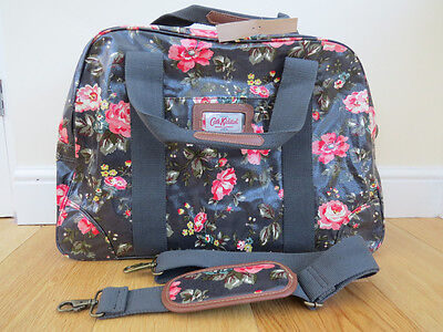 Cath Kidston Red Floral Print Large Weekend/Travel Bag Slight Second GREAT VALUE