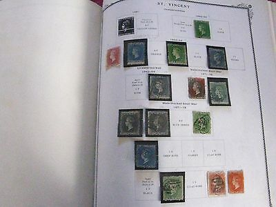 St. Vincent Valuable Mint and Used 1864-1951 Collection, Scott $2480+ (CA1906)