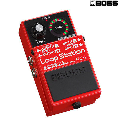 BOSS RC-1 Loop Station Pedal NEW l USA Authorized Dealer