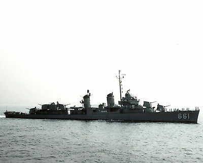 United States Navy Destroyer Uss Kidd Dd 961 Photograph With Stats/history Sheet