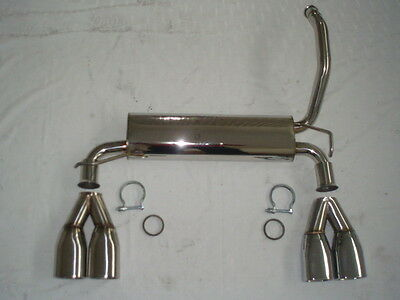 Nil Duplex Stainless Steel Exhaust Pipe CITROEN C1 from Yr 2005 1.0L 50KW 1.4L
