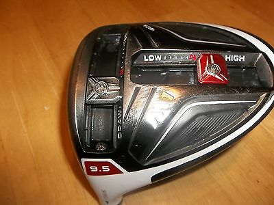 Lh Taylormade M1 460 9.5* Driver Head Only Good Condition