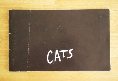 CATS (Musical) World Premiere Program 1981 West End New London Theatre Ballet
