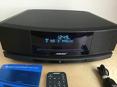 Bose Wave IV SoundTouch Music System w/Bluetooth Wi-Fi CD Player AM FM & AUX