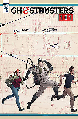 Ghostbusters 101 #4 Idw 1St Print 28/06/17 Nm