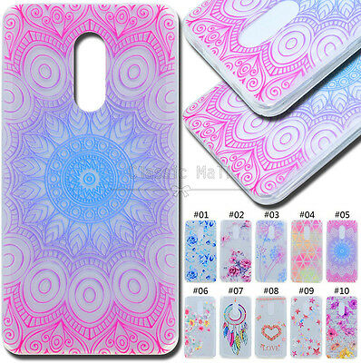 For Lenovo K6 Note Clear Protective Skin Back Various TPU Case Shell Soft Cover