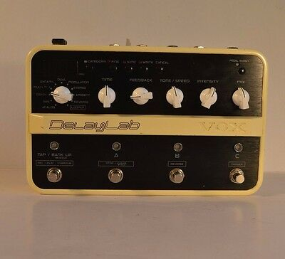 VOX Delaylab DELAY EFFECTS PEDAL/LOOPER
