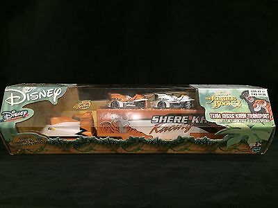 NIP Disney The Jungle Book 2 Team Shere Khan Transport w/2 Wild Racer Cars