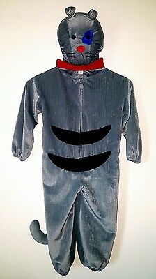 Caillou Gilbert The Cat Costume Toddler size 3 to 4