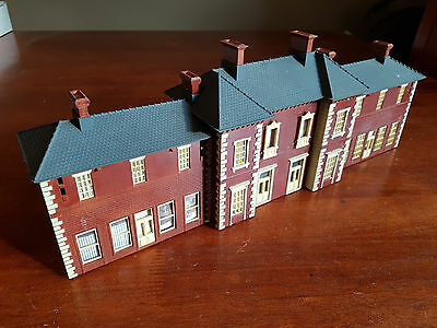 Large 2-Storey Station Building From Kit Good Condition Unboxed Oo Ho Gauge (Tk)