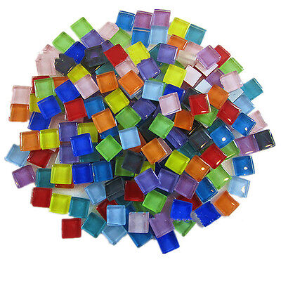 10mm Mixed Crystal Glass Mosaic Tiles Kitchen Bathroom Art & Craft Supplies 100g
