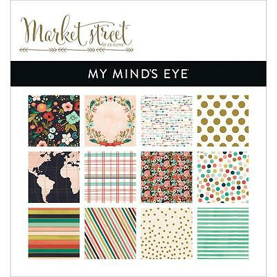 My Minds Eye Ashbury Heights Paper Pad - 6 x 6 inch, Scrapbooking, Craft, Cards