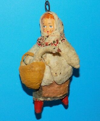 Cotton Pre-War Christmas Ornament, The Original Of The Ussr 1960 №316