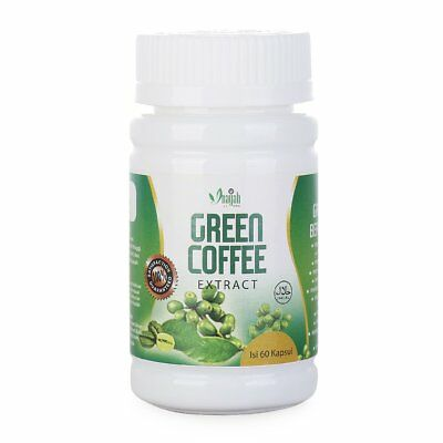 Herbal Green Coffee Bean Extract Strength Weight Loss Slimming Fat Burn Halal