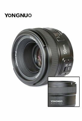 YONGNUO YN35MM 50MM Lens F/1.8 F/2 Wide-angle for Nikon DSLR Camera D7000 D7100