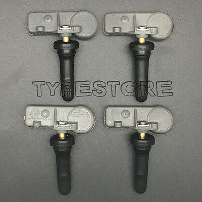 New 4x TPMS Tire Pressure Monitoring Sensors 13581558 13586335 for Chevy GM OEM