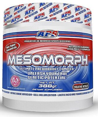 APS Mesomorph Hardcore Booster erste US Version 388g Versandrabatte beachten!