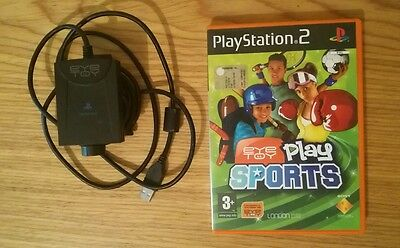 Eye Toy ps2 + Play Sports-PS2 Gioco Italiano Completo PAL ITA - telecamera