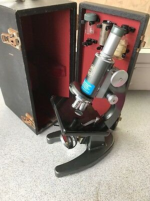 Microscope C baker London With Black Case