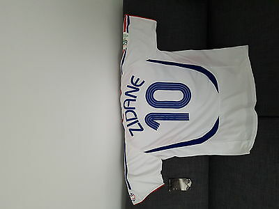 Maillot neuf ZIDANE France 2006 taille XL