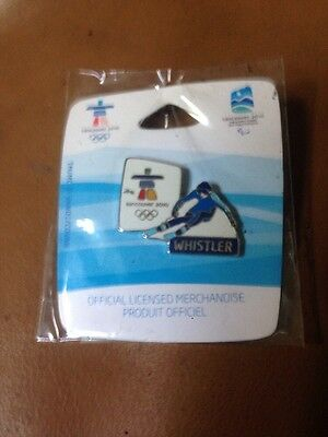 Vancouver 2010  Winter Olympic Pin Whistler New