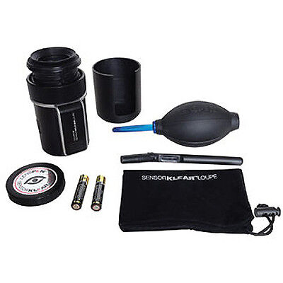 Lenspen sensor klear loupe kit NSKLK-1 .See and clean your DSLR sensor clearly!!