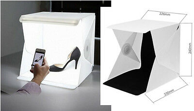 Mini Light Box Studio Fotografico Fotografia Illuminazione Softbox Per Camera
