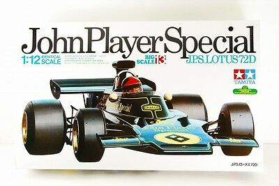 TAMIYA 1/12 JohnPlayerSpecial BIG SCALE SERIES J.P.S.LOTUS72D VERY RARE!!