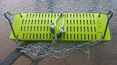 Hills Playtime Swing Set- Parts - Single Seat - Complete - New - Green