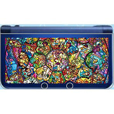 Disney Characters Clear Hard Cover Case for New Nintendo 3DS XL ship from JAPAN