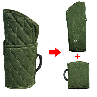 Dog Bite Training Sleeve Protection Canvas Fit Both Left Right Arm Suit Handle