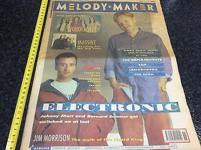 Melody Maker -April 1991 Electronic