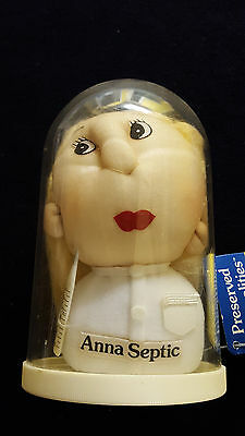 "Nurse Anna Septic Russ ""Preserved Personalities"" Vintage Nylon Head in a Jar"