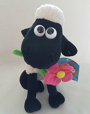"""New* Shaun The Sheep With Daisy  Plush  Soft Toy 11"""" Nwt"""