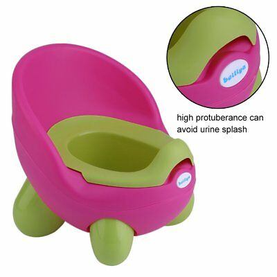New Cute Children Potty Chair Easy Clean Kids Toddler Training Toilet Seat Uk